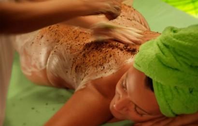 Фруктовый пилинг - массаж