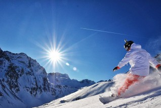 Катание на сноуборде