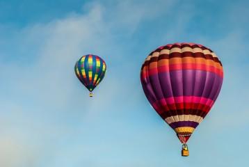 Полет на воздушном шаре в Феодосии