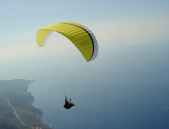 Полёт на параплане в Ласпи