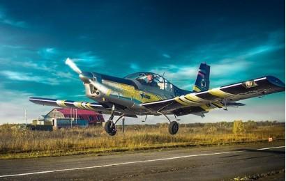 Полет на самолете с парашютистами