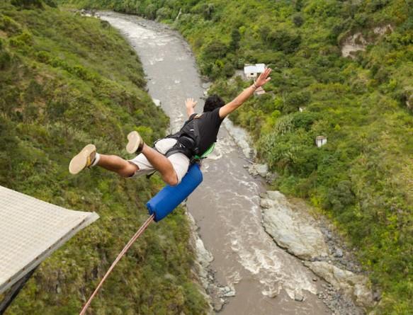Прыжок с верёвкой (роупджампинг)