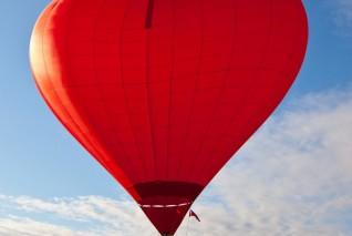 Романтическое свидание на воздушном шаре