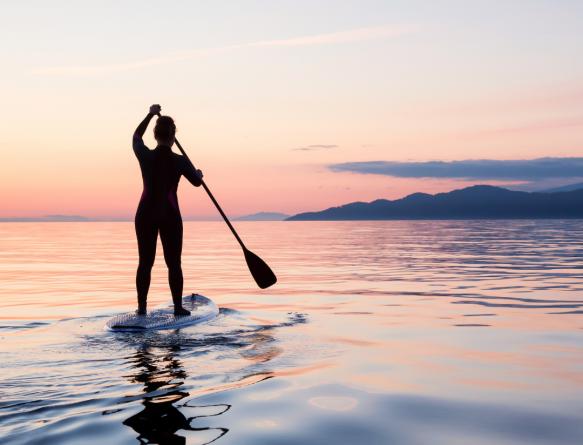 SUP-сёрфинг в Гурзуфе