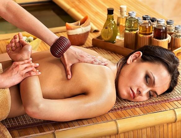 Тайский арома-oil массаж